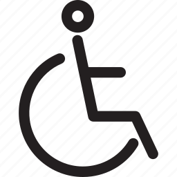 disability, handicapped, health, hospital, medical, parking, wheelchair icon