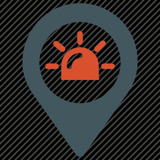 ambulance place location, ambulance transport, emergency, health, hospital icon
