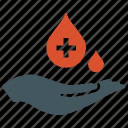 blood, care, donate, donation, transfusion icon