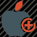 apple, diet, dietary, food, fruit, healthy diet, healthy food icon