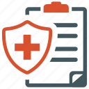 health insurance, medical insurance, protection icon