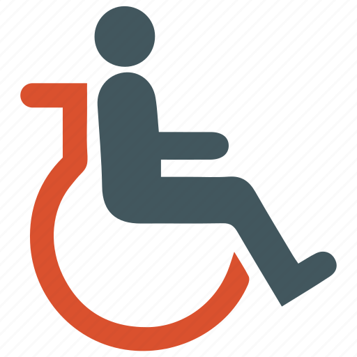 cripple, disability, handicapped icon