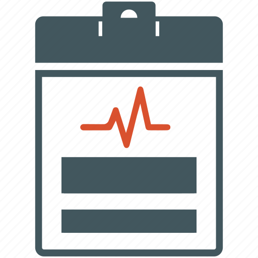 cardiogram, healthcare, medical diagnosis, medical report, medical test icon