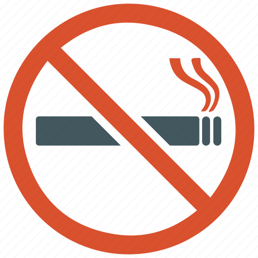 cigarette, no smoking, tobacco icon
