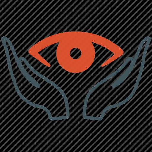 eye care, eyesight, ophthalmology icon