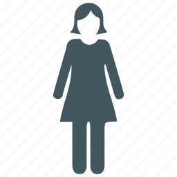 account, female, human, people, person, users, woman icon