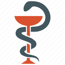 medical, medicine, pharmacy, snake icon