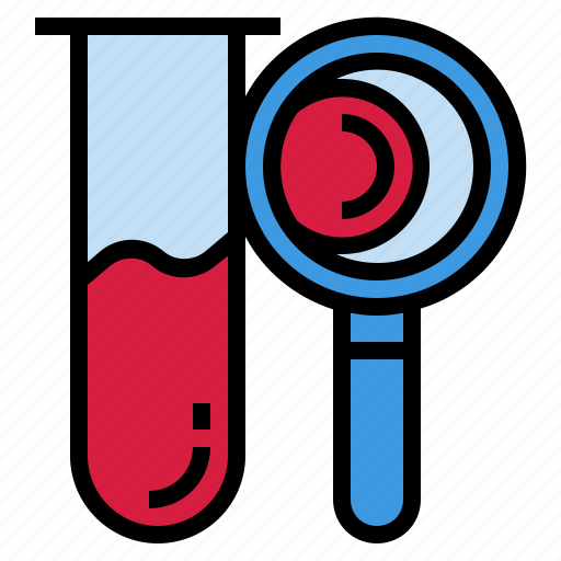 analysis, blood, investigation, laboratory, medical, test icon