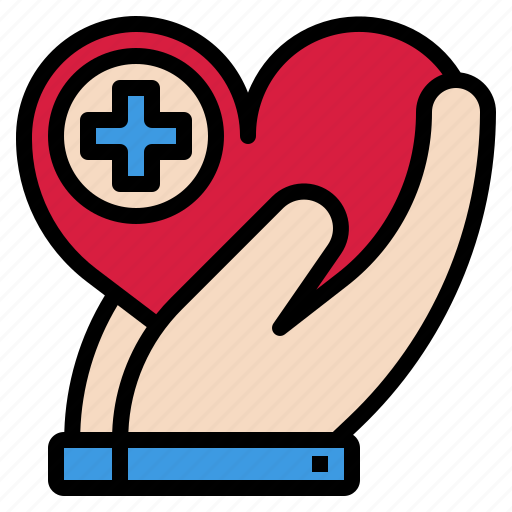 charity, health, healthcare, insurance icon