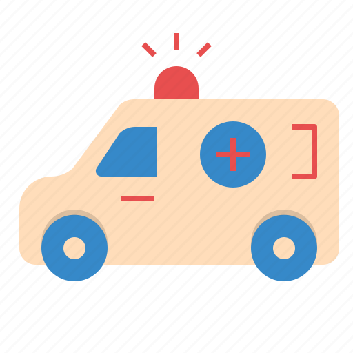 ambulance, car, hospital, medical, service icon