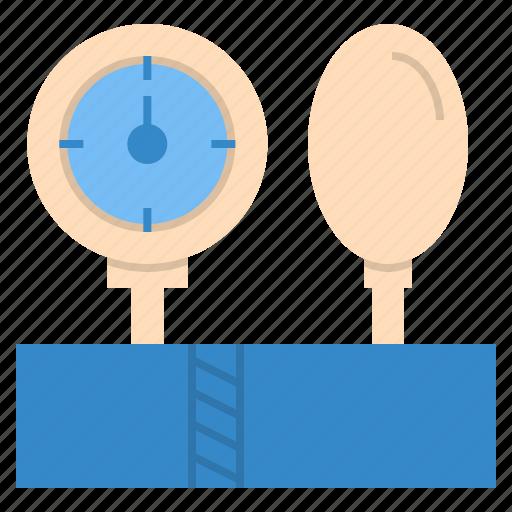 blood, check, healthy, pressure, sphygmomanometer icon