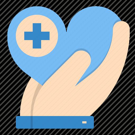 charity, health, healthcare, insurance icon