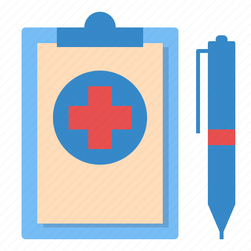 document, health, hospital, medical, report, result icon