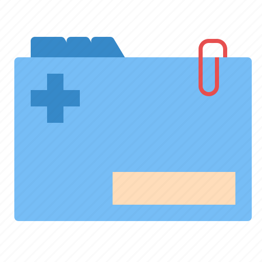 document, health, information, medical, patient icon