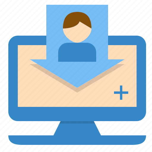 document, hospital, information, online, patient, registration icon