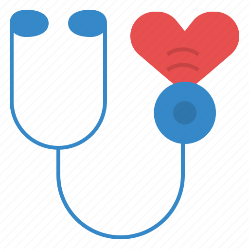 beat, doctor, health, heart, sound, stethoscope icon