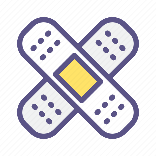 aid, band, bandage, healthcare, medical, plaster, wound icon