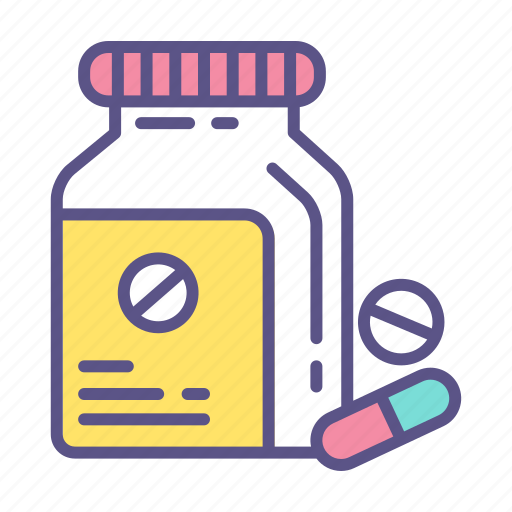 Antibiotic, medication, medicine, pharmacy, pill, tablet, vitamin icon - Download on Iconfinder