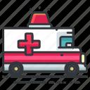 ambulance, emergency, hospital, transport, transportation, vehicle