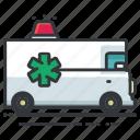ambulance, emergency, transportation, medical, transport, vehicle