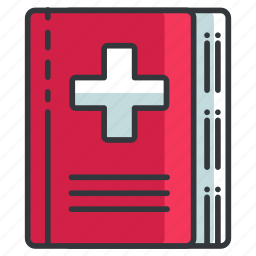 book, education, healthcare, medical, read, textbook icon