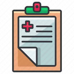 chart, clipboard, clipchart, healthcare, medical icon