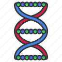 biology, dna, genetics, health, healthcare, medical, science icon