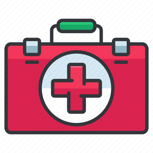 aid, box, first, health, healthcare, medical icon