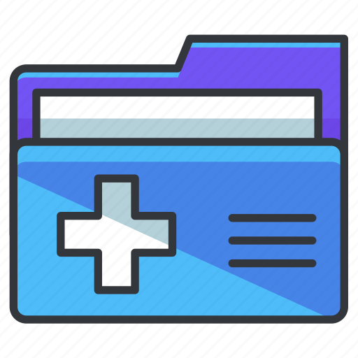 archive, data, document, folder, healthcare, medical, storage icon
