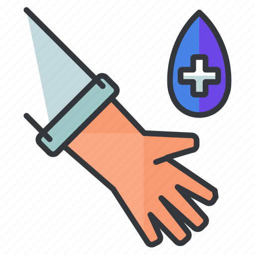 drop, hand, healthcare, medical, medication, medicine icon