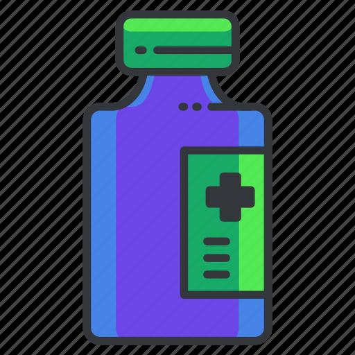 bottle, health, healthcare, medical, medication, medicine icon