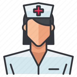 avatar, female, medical, nurse, profile, user, woman icon
