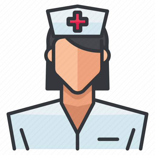 avatar, female, medical, nurse, profile, user, woman icon