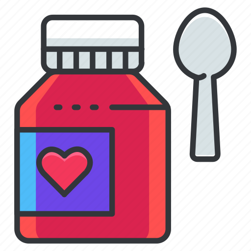 liquid, medical, medication, medications, medicine, oral, spoon icon