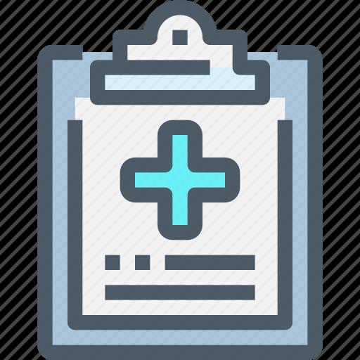 document, healthcare, hospital, medical icon
