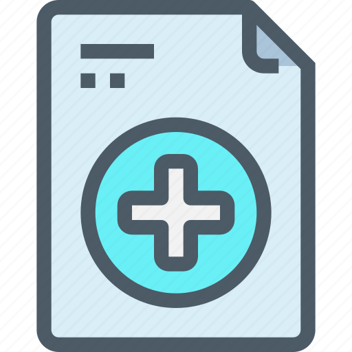 document, file, healthcare, hospital, medical, report icon