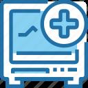 cardiogram, hospital, medical, report