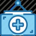 banking, hospital, medical, mobile, pharmacy icon