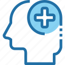 head, hospital, human, medical, mind, pharmacy icon
