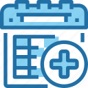 calendar, event, hospital, medical, plan