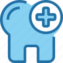 dental, dentist, hospital, medical, tooth icon