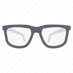 eye, eyeglasses, glasses, spectacles, view, visible, vision icon