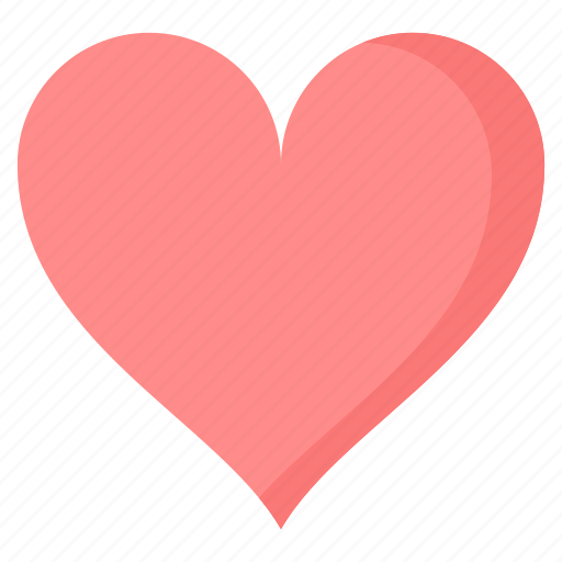 care, favorite, heart, love, red, romance, valentine icon