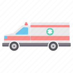 ambulance, care, emergency, healthcare, hospital, medical, van icon