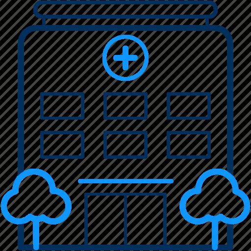 Building, care, doctor, health, hospital, medical icon - Download on Iconfinder