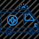 ambulance, care, doctor, health, hospital, medical, van