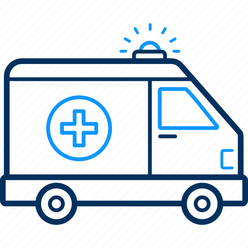 ambulance, care, doctor, health, hospital, medical, van icon