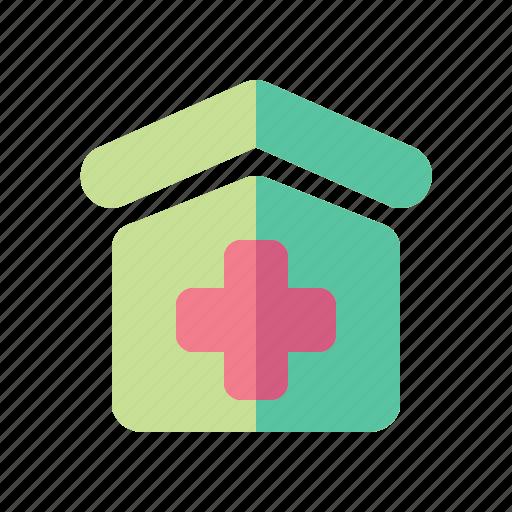 Building, clinic, elements, hospital, medical, medicine icon - Download on Iconfinder