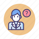 ask a doctor, consultation, doc, doctor icon