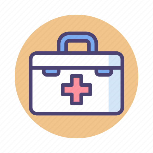 first aid, first aid kit, medical kit icon